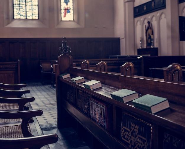 Annata antica di religione antica astratta di fede della chiesa