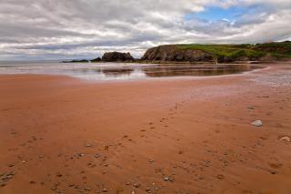 Annestown spiaggia hdr scena