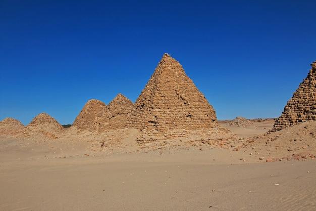 Antiche piramidi di nuri, sudan