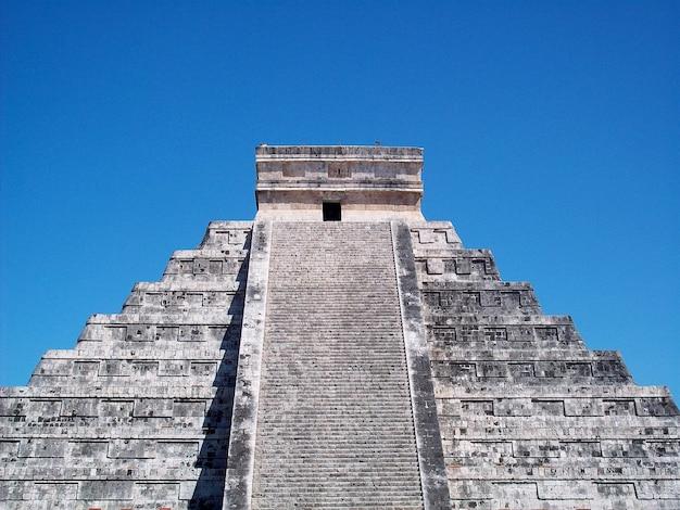 Antiche rovine di maya, chichen itza, yucatan, messico