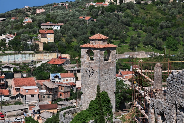 Antiche rovine di stari bar, montenegro