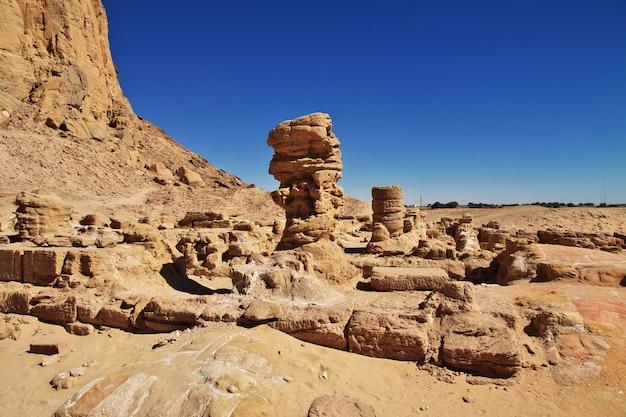 Antico tempio del faraone in sudan