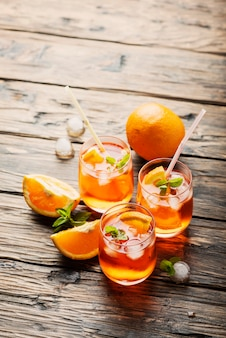 Aperol spritz all'arancia