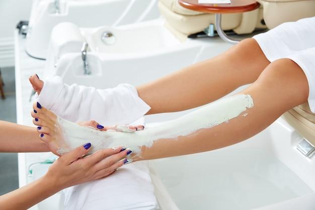 Apicoltore nutriente maschera da donna gambe idratante