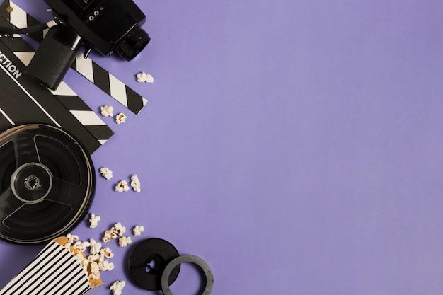 Apparecchiature cinematografiche copy-space