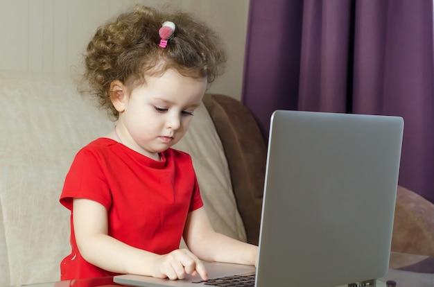 Apprendimento online, tecnologia e concetto di internet