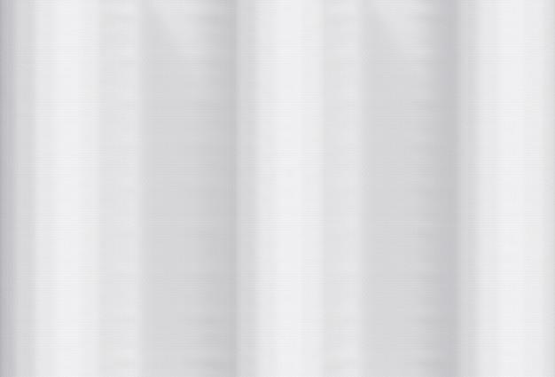 Appuntamento 3d. sventolando bianco vinile tessuto panno bordo superficie texture di sfondo muro.