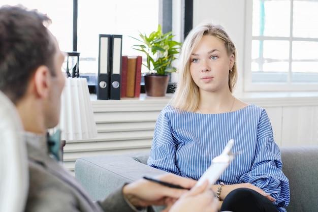 Appuntamento presso lo psicologo