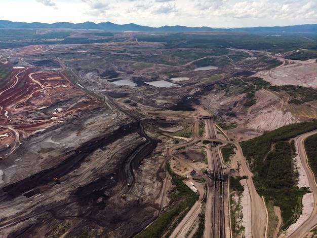 Apri miniera di carbone