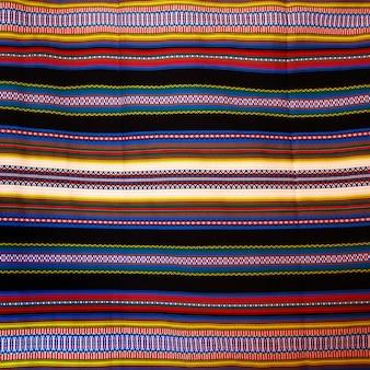 Aragon coperta tipica con strisce arab patrimonio