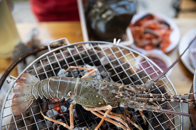 Aragosta alla griglia pesce.