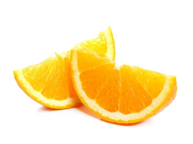 Arancione su bianco