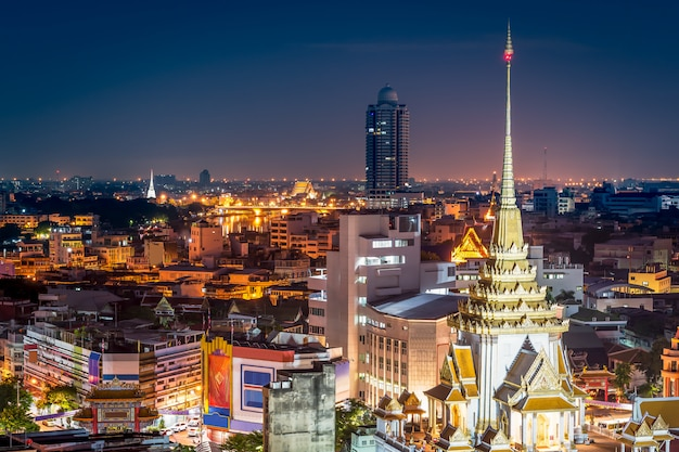 Architettura buddista in città