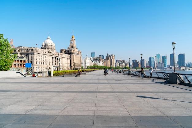 Architettura bund a shanghai