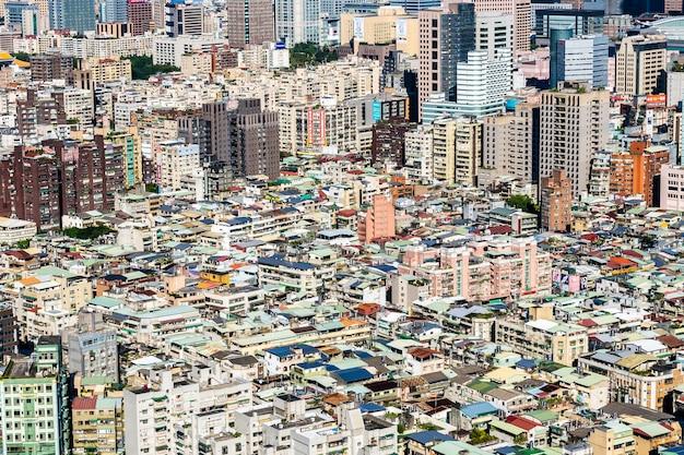 Architettura che costruisce esteriore nella città di taipeh in taiwan