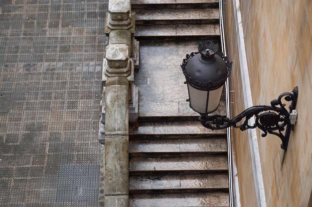 Architettura di scale nella città di bilbao