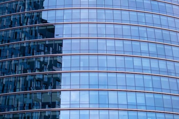 Architettura moderna dell'edificio per uffici a bruxelles, belgio