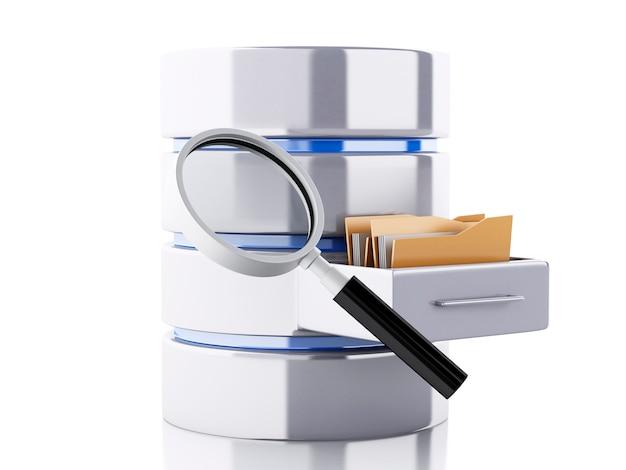 Archiviazione dati 3d con cartelle