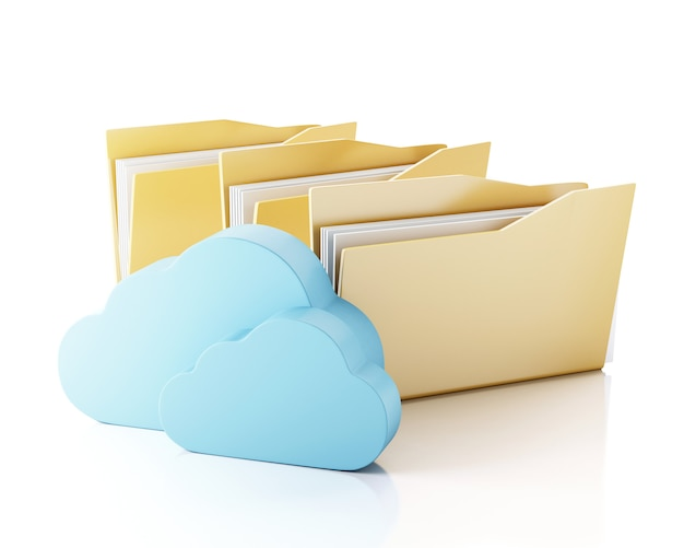 Archiviazione di file 3d in cloud.