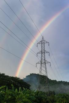 Arcobaleno dopo la pioggia.