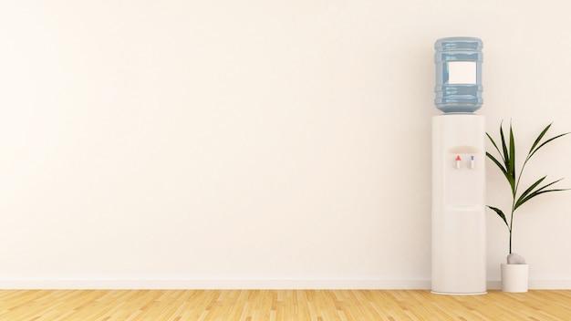 Area della stanza in ufficio-rendering 3d