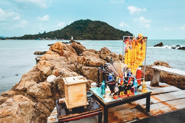 Area panoramica di je de ban hua laem a chanthaburi