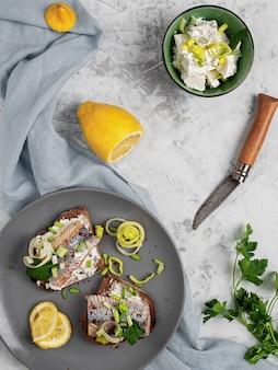 Aringhe (sandwich di smorrebrod)