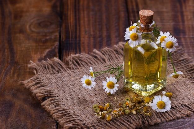 Aromaterapia all'olio di camomilla