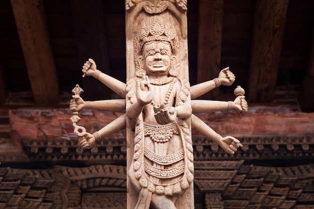 Arredamento del tempio indù