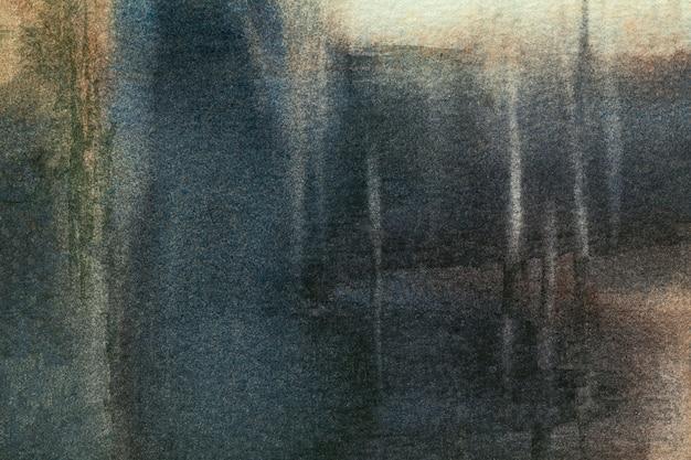 Arte astratta sfondo blu navy e colori neri.