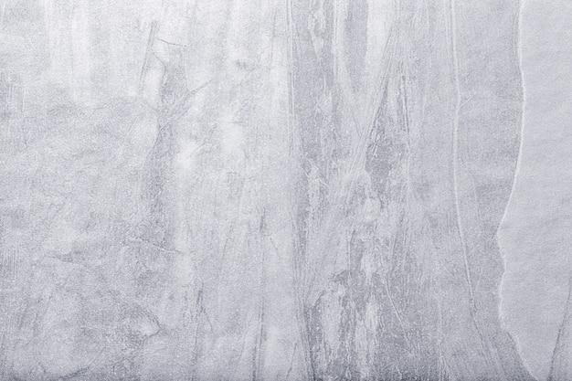 Arte astratta sfondo grigio chiaro e argento