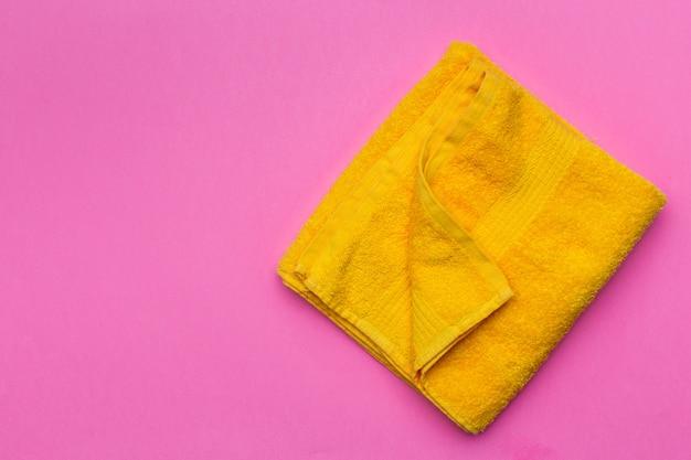 Asciugamani spa, vista dall'alto