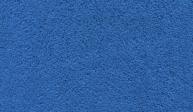 Asciugamano in cotone blu