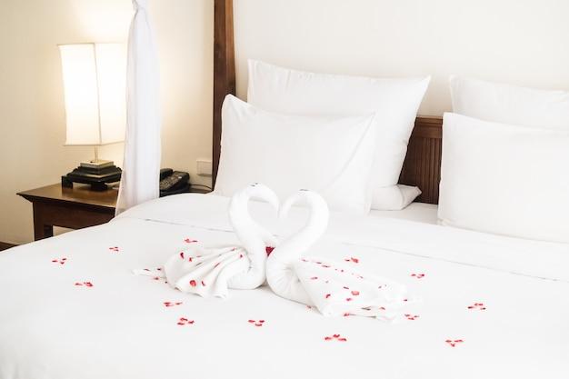 Asciugamano swan
