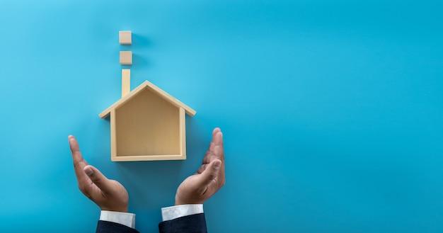Assicurazione e proprietà della mia casa copertura estate incidente di protezione residenziale investire e casa