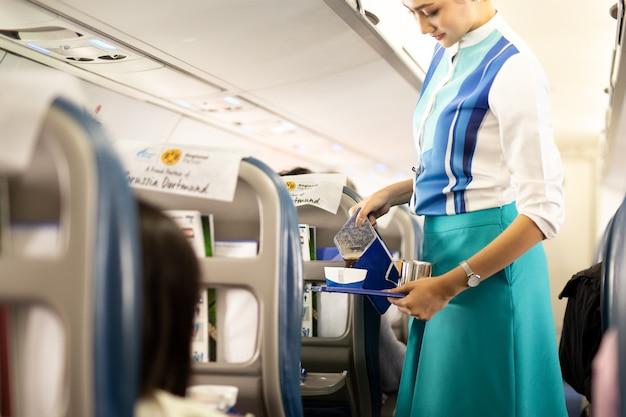 Assistente di volo di bangkok airways