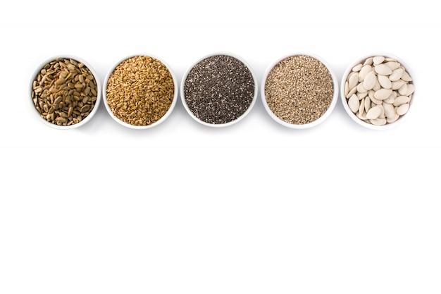 Assortimento di semi diversi