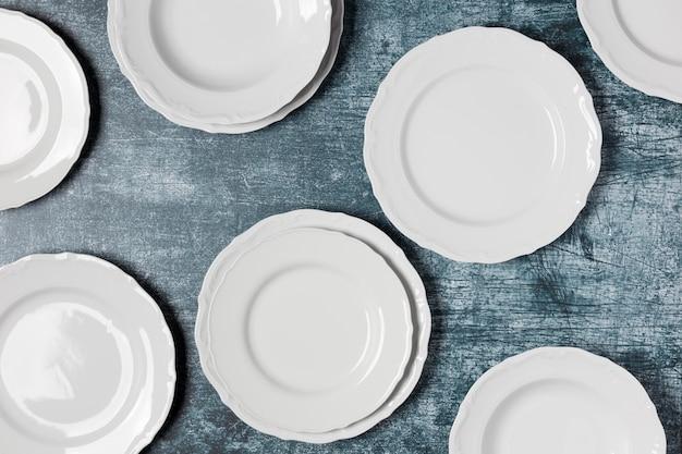 Assortimento piatto di piatti diversi