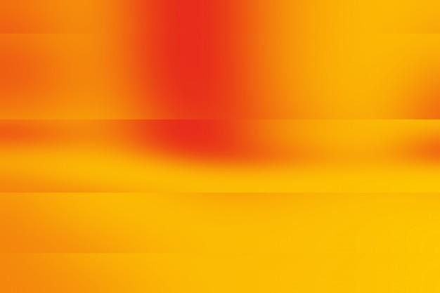 Astratto arancione layout layout di sfondo, studio, stanza, modello web, relazione aziendale con gradiente cerchio gradiente colore.