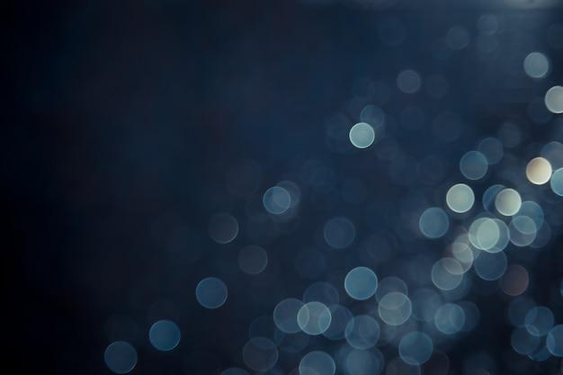 Astratto blu bokeh