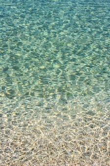 Astratto blu mare calmo o superficie dell'acqua dell'oceano