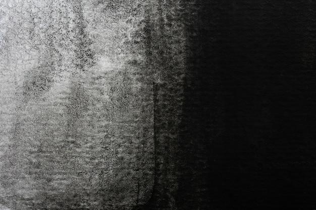 Astratto sfondo acquerello bianco e nero. pittura a mano d'arte