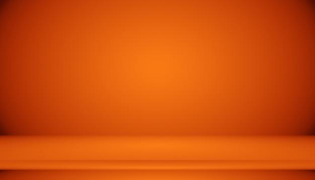 Astratto sfondo arancione liscio