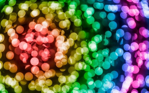 Astratto sfondo colorato bokeh
