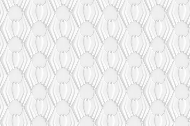 Astratto sfondo colorato geometrico basato su una griglia esagonale con l'immagine di pipistrelli