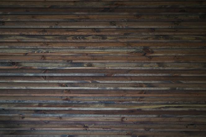 Astratto sfondo della parete in legno