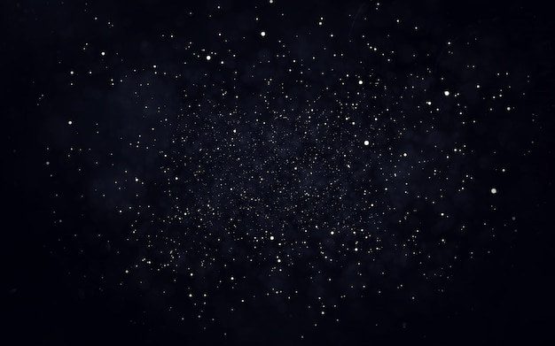 Astratto sfondo di particelle di polvere di stelle