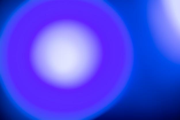 Astratto sfondo sfocato con luci blu