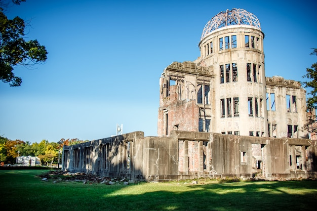 Atomic dome, hiroshima peace memorial seconda guerra mondiale
