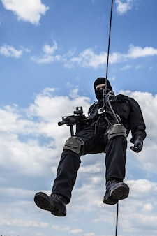 Attacco rappeling